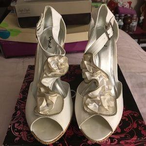 Fashion Wedge Heel Shoes